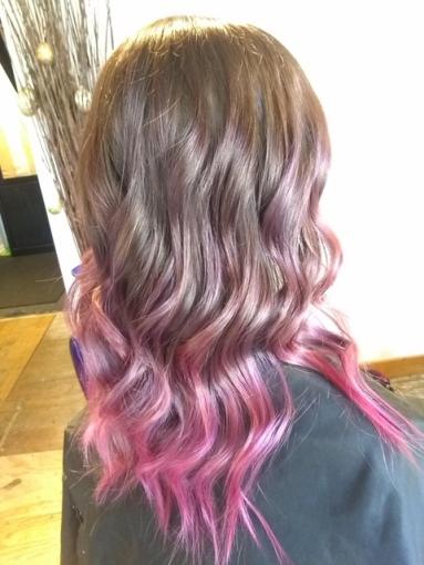 Dark to Pink